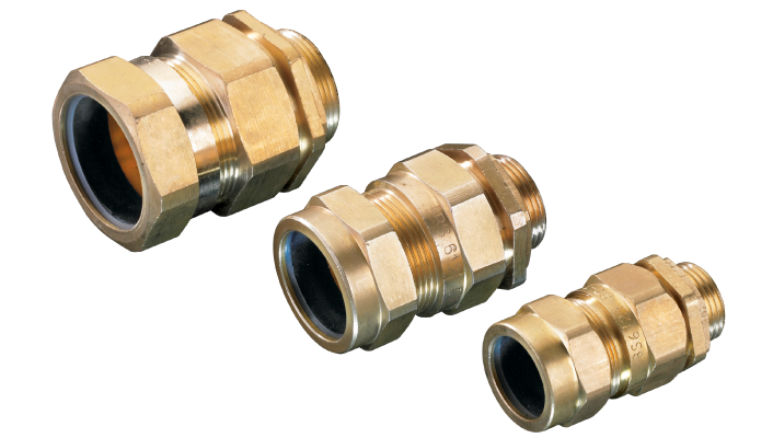 armoured brass cable gland syntech industries